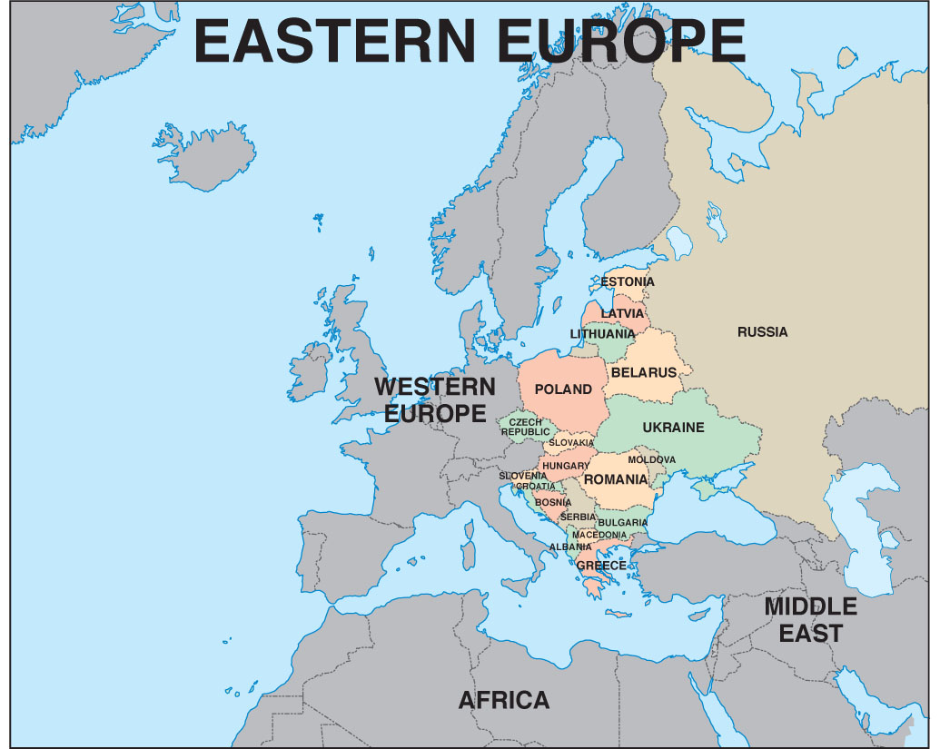 Hungary for Some Travel Eastern Europe Here We Come – Travel Map Of Eastern Europe