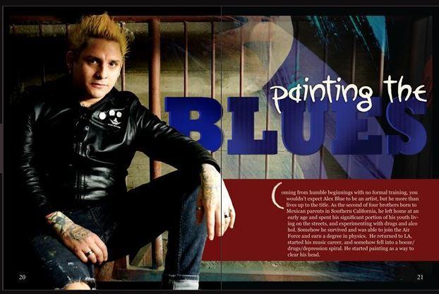 normandie blue article
